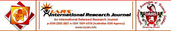 IARS' International Research Journal