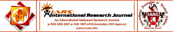 IARS' International Research Journal